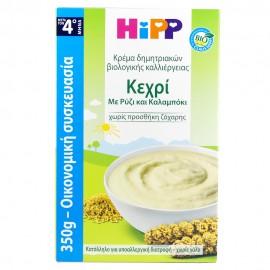 Hipp Κρέμα Κεχρί με Ρύζι & Καλαμπόκι από τον 4ο μήνα 350gr