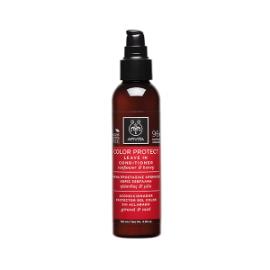 APIVITA Holistic Hair Care Κρέμα Προστασίας Χρώματος Χωρίς Ξέβγαλμα