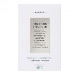 KORRES Pro-Meno Strength, Συμπλήρωμα Διατροφής - Περιεμμηνόπαυση 30tabs