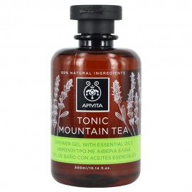 Apivita Tonic Mountain Tea Aφρόλουτρο με Aιθέρια Έλαια 300ml