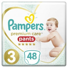 Pampers Premium Care Pants No 3 (6-11Kg) 48τμχ