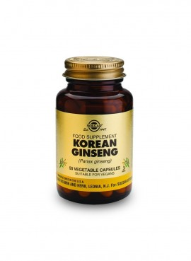 Solgar Korean Ginseng 50 veg caps