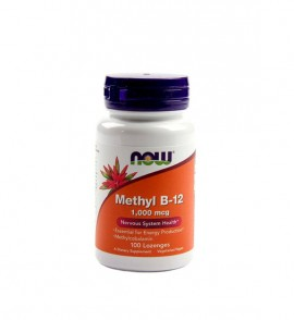 Now Methyl B-12 1000 mcg 100 lozenges