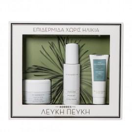 Korres Promo White Pine Day Cream 40ml + Serum 30 ml + 3 in 1 Cleansing Emulsion 16ml