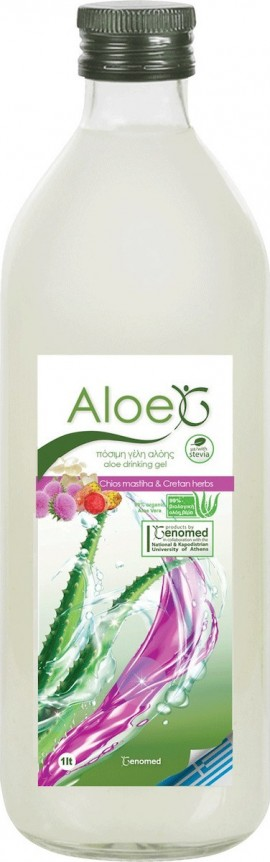 Genomed Aloe Chios Mastiha & Cretan Herbs 1000ml