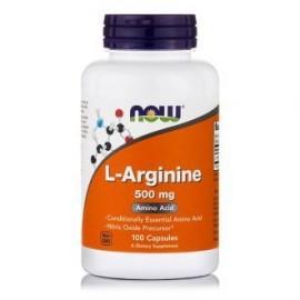 Now L-Arginine 500mg 100 κάψουλες