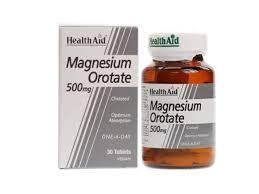 Health Aid Magnesium Orotate 500mg 30tablets