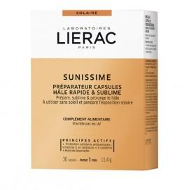 Lierac Sunissime Preparateur Capsules Hale Rapide & Sublime Αντιγηραντικές Κάψουλες Μαυρίσματος 30κάψουλες