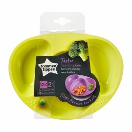 Tommee Tippee Taster Section Plate 12m+ 2pack