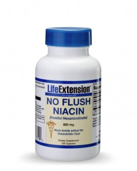 LIFE EXTENSION No Flush Niacin 800mg
