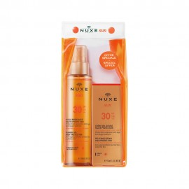 Nuxe Set Sun Tanning Oil SPF30 150ml & Nuxe Sun Face Cream SPF30 50ml