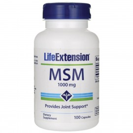 Life Extension MSM 1000mg 100 κάψουλες