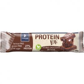 My Elements Protein Bar Vegan Double Chocolate Brownie Μπάρα Πρωτεΐνης Χωρίς Λακτόζη Και Γλουτένη 40gr