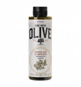 KORRES Olive, Αφρόλουτρο Κέδρος 250ml