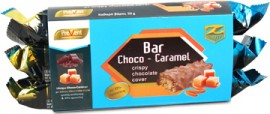 Prevent Z-Konzept Protein Bar 33% Choco-Brownie Caramel Πρωτεϊνική Μπάρα 3x50gr