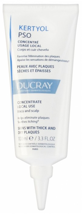 Ducray Kertyol PSO Concentrate Local Use 100ml