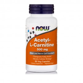 Now Acetyl L-Carnitine 500mg 50 κάψουλες