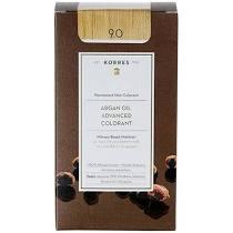 Korres Βαφή Argan Oil Advanced Colorant 9.0 Ξανθό Πολύ Ανοικτό 50ml