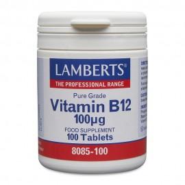 Lamberts Vitamin B12 100μg 100tabs