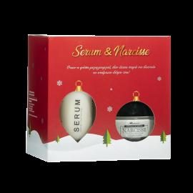 Anaplasis X-Mas Gift Pack Serum Aναδόμησης 30ml & Κρέμα Νυκτός Narcisse με Υαλουρονικό Οξύ Δύο Τύπων 50ml