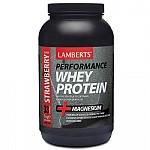 Lamberts Whey Protein Vanilla με Γεύση Φράουλα 1000g