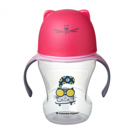 Tommee Tipee Soft Sippee Trainer Cup Pink 6m+ 230ml