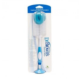 Dr. Browns Natural Flow Bottle Brush Βούρτσα Καθαρισμού Μπιμπερό Μπλέ