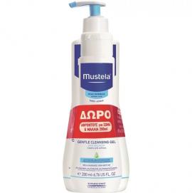 Mustela Promo Gel Lavant Doux 500ml + Δώρο Mustela 2 in 1 Cleansing Gel 200ml