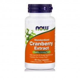 Now Cranberry Extract with PACs 90Veg Capsules