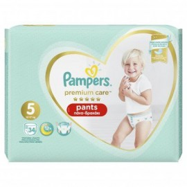 Pampers Premium Care Pants No 5 (12-17Kg) 34τμχ