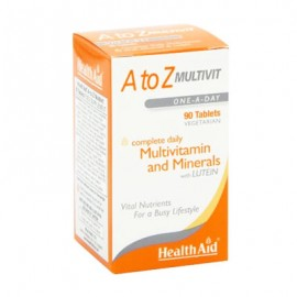 Health Aid A to Z Multivitamin & Minerals 60 tablets