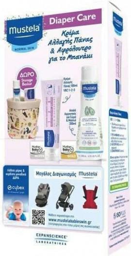 Mustela Promo Gentle Cleansing Gel 200ml & Vitamin Barrier Cream 100ml  & Δώρο Storage Box