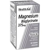 Health Aid Magnesium Bisglycinate 375mg 60tablets