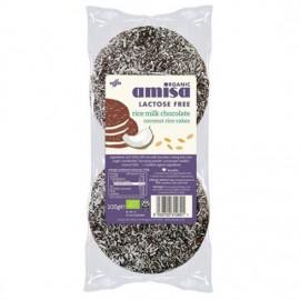 AMISA Rice Milk Chocolate Lactose Free 6 τεμάχια