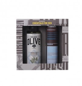 ΚΟΡΡΕΣ Promo Essentials for Men Shower Gel Olive Cedar 250ml & Aftershave Balm 200ml