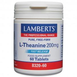 Lamberts L-Theanine 200mg 60 tabs