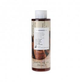 Korres Showergel Αφρόλουτρο Βανίλια Κανέλα Vanilla Cinnamon 250ml