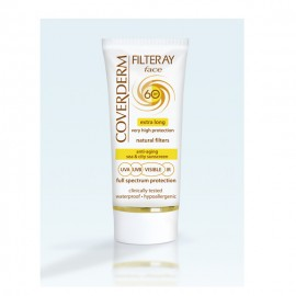 Coverderm Filteray Tinted Soft Brown Face Cream SPF60 50ml