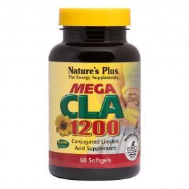 NaturesPlus Mega CLA 1200mg 60 μαλακές κάψουλες