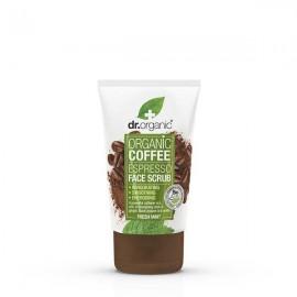 Dr. Organic Coffee Espresso Face Scrub with Fresh Mint 125ml