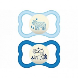 Mam Air Night Animal Blue 6-16M 2τμχ