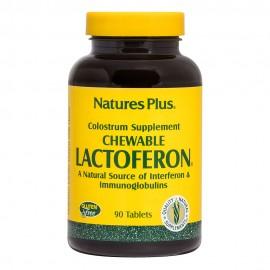 NaturesPlus Lactoferon Chewable Colostrum 90tabs