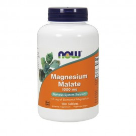 Now Magnesium Malate 1000 mg 180 Tablets