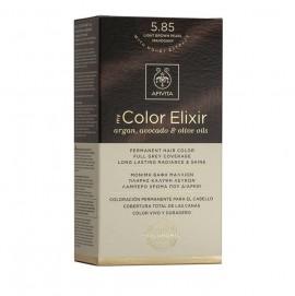 Apivita My Color Elixir 5.85 Καστανό Ανοιχτό Περλέ Μαονί