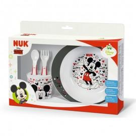 Nuk Tableware set  Disney Mickey 9m+