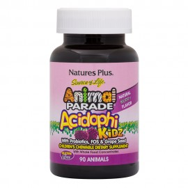 NaturesPlus Animal Parade Acidophikidz Acidophikidz  90 gummies