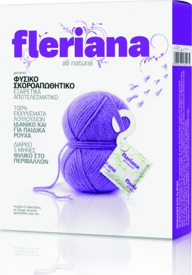Power Health Fleriana Moth Repellent Φυσικό Σκοροαπωθητικό με Γερανιόλη 5τμχ