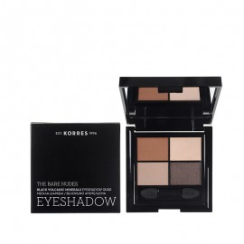 KORRES Black Volcanic Minerals Eyeshadow The Bare Nudes