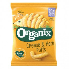 Organix Cheese & Herb Puffs από 10μηνών 15gr