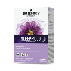 Superfoods Sleep Mood 30 κάψουλες